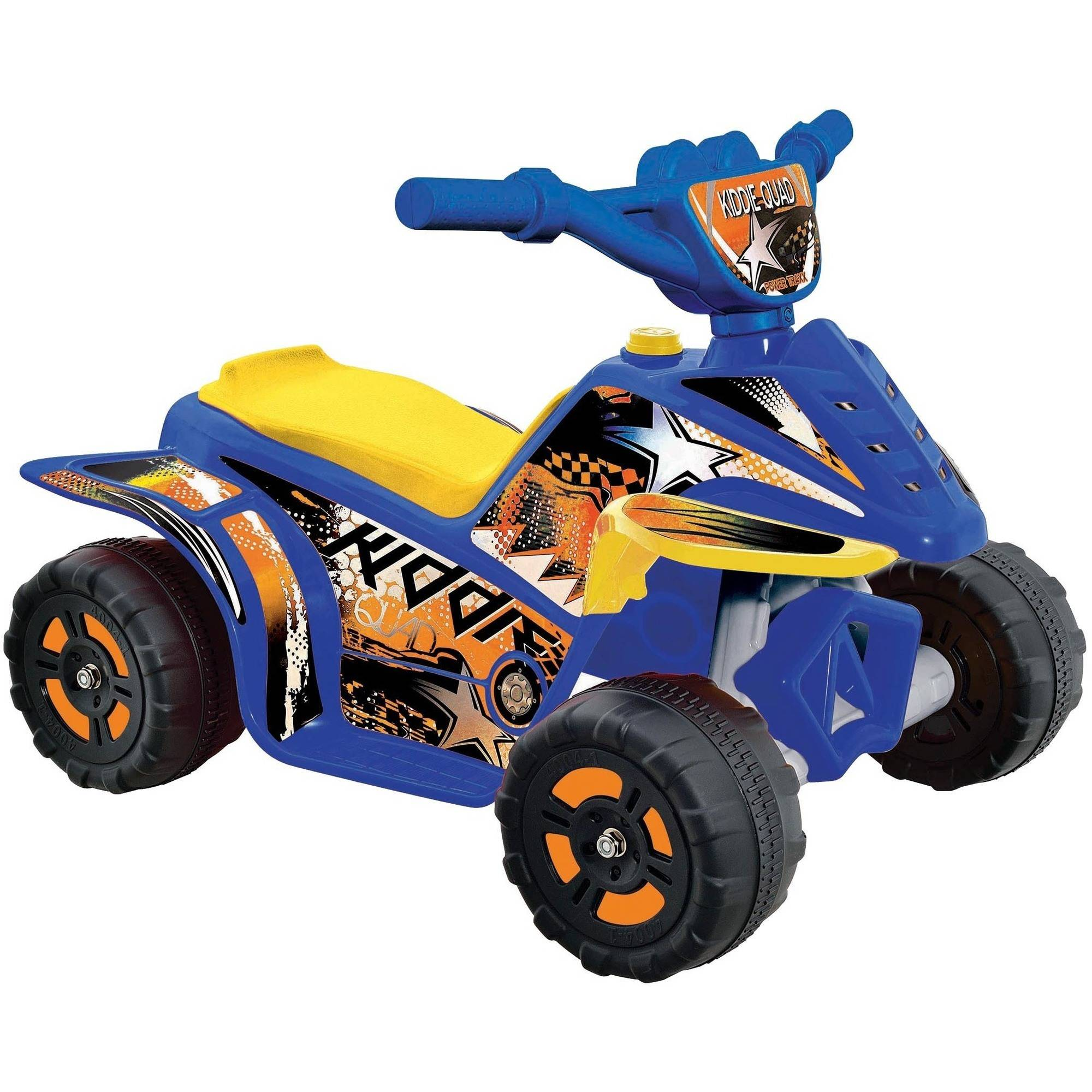 Fun Creation 6V Kiddie Quad Ride-On, Available in Various Colors