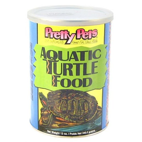 Pretty Pets Aquatic Turtle Food 12 oz by Acme