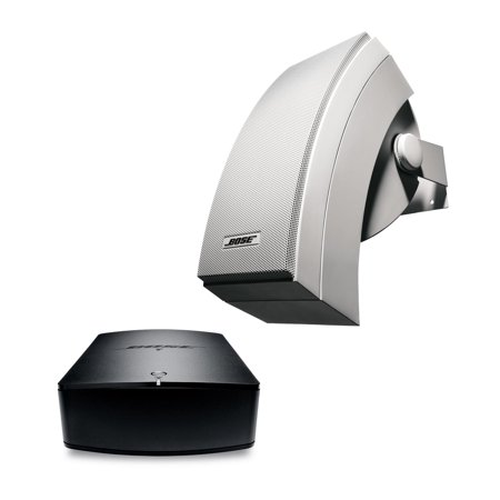 Bose SoundTouch SA5 Stereo Amplifier & 251 White (Pr) Indoor Outdoor Speaker Kit (Bluetooth Bose Stereo Speakers)