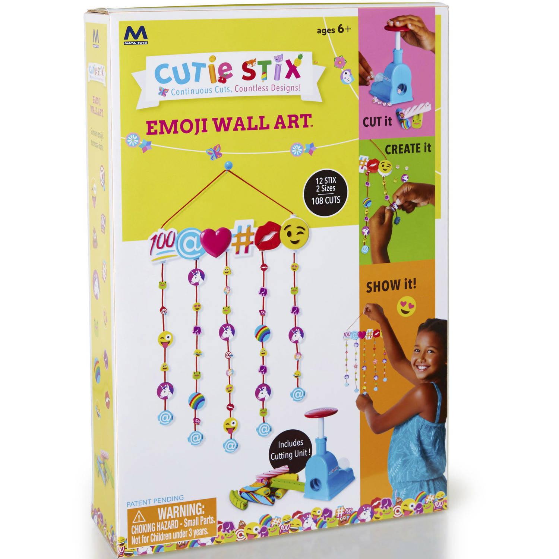 Cutie Stix Emoji Wall Art Craft - Walmart.com