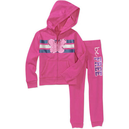 George Girls' 2-Piece Hoodie and Pant Set