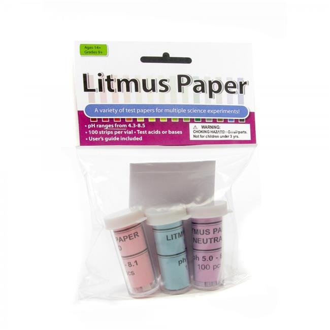 American Educational 7-3000-3-RT Litmus Paper Assortment