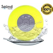 Sound Machine Waterproof Bluetooth Shower Speaker _ Water Resistant with Bluetooth 3.0 Handsfree and Portable. Eliminate Your