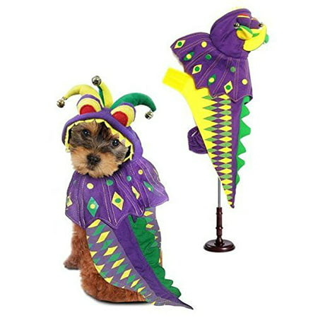Dragon Costume For Dogs (Dog Costume MARDI PAWS DRAGON COSTUMES Mardi Gras Dogs Outfit(Size)
