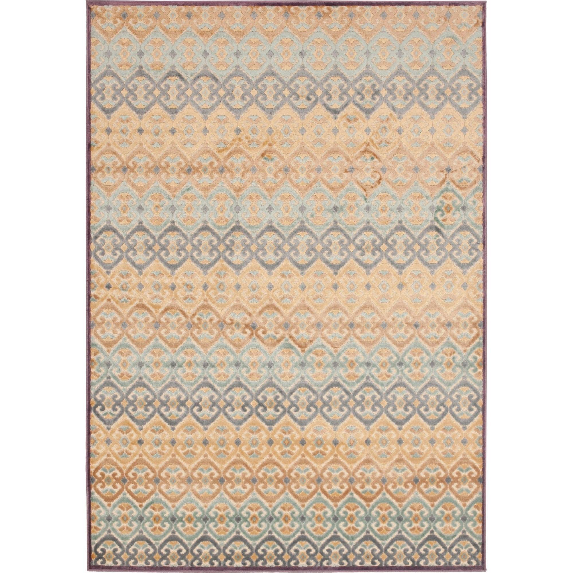 Safavieh Paradise Angelina Power Loomed Viscose Area Rug, Mauve/Multi