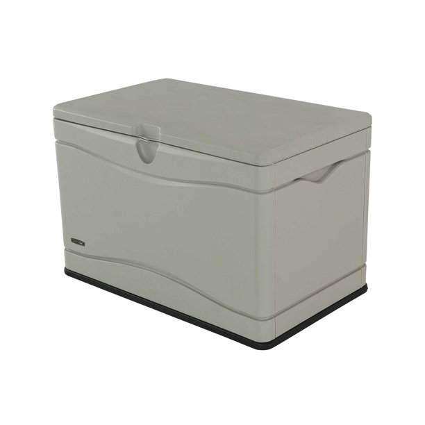Lifetime 80 Gallon Heavy-Duty Deck Box, Beige
