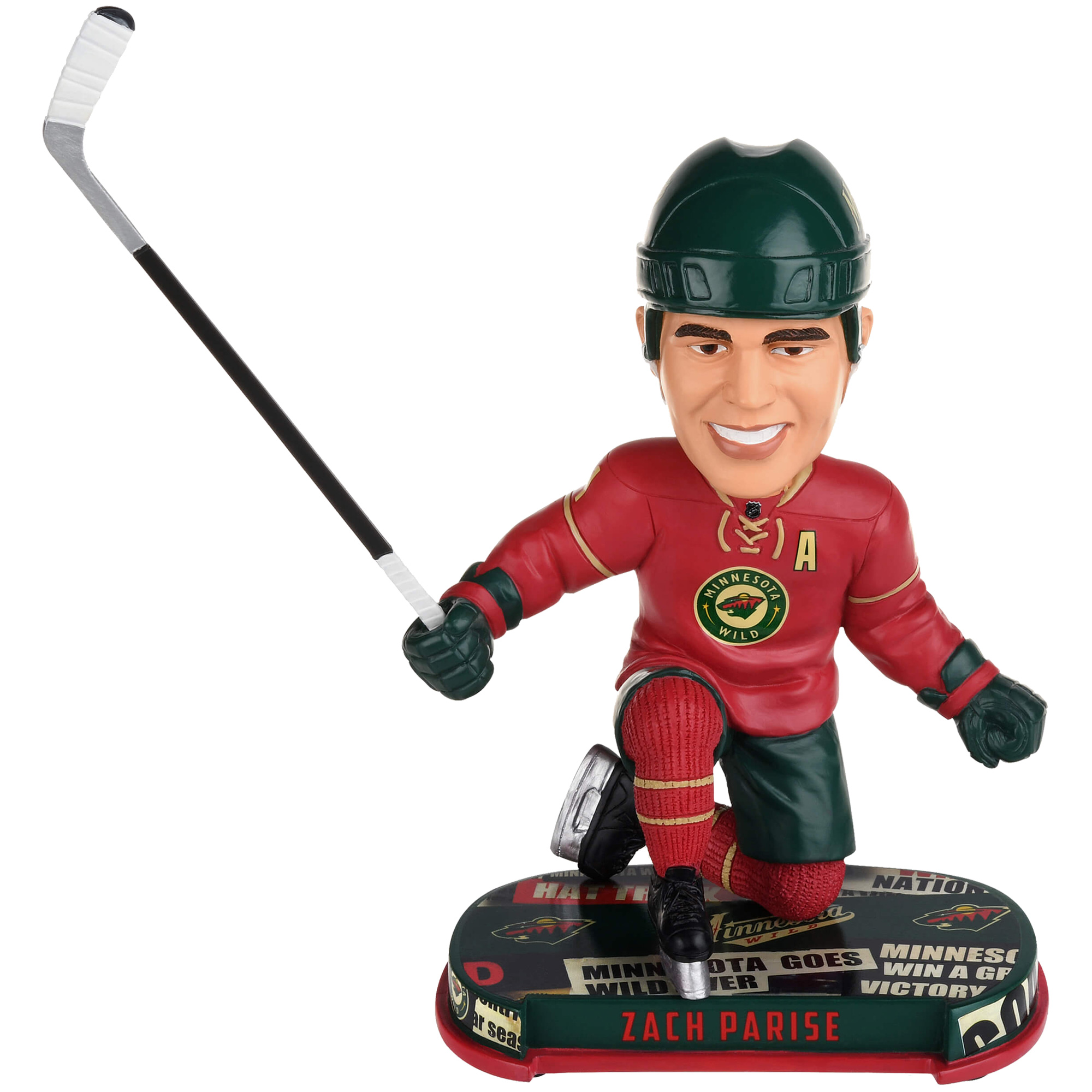 Zach Parise Minnesota Wild 2017 Headline Player Bobblehead - No Size
