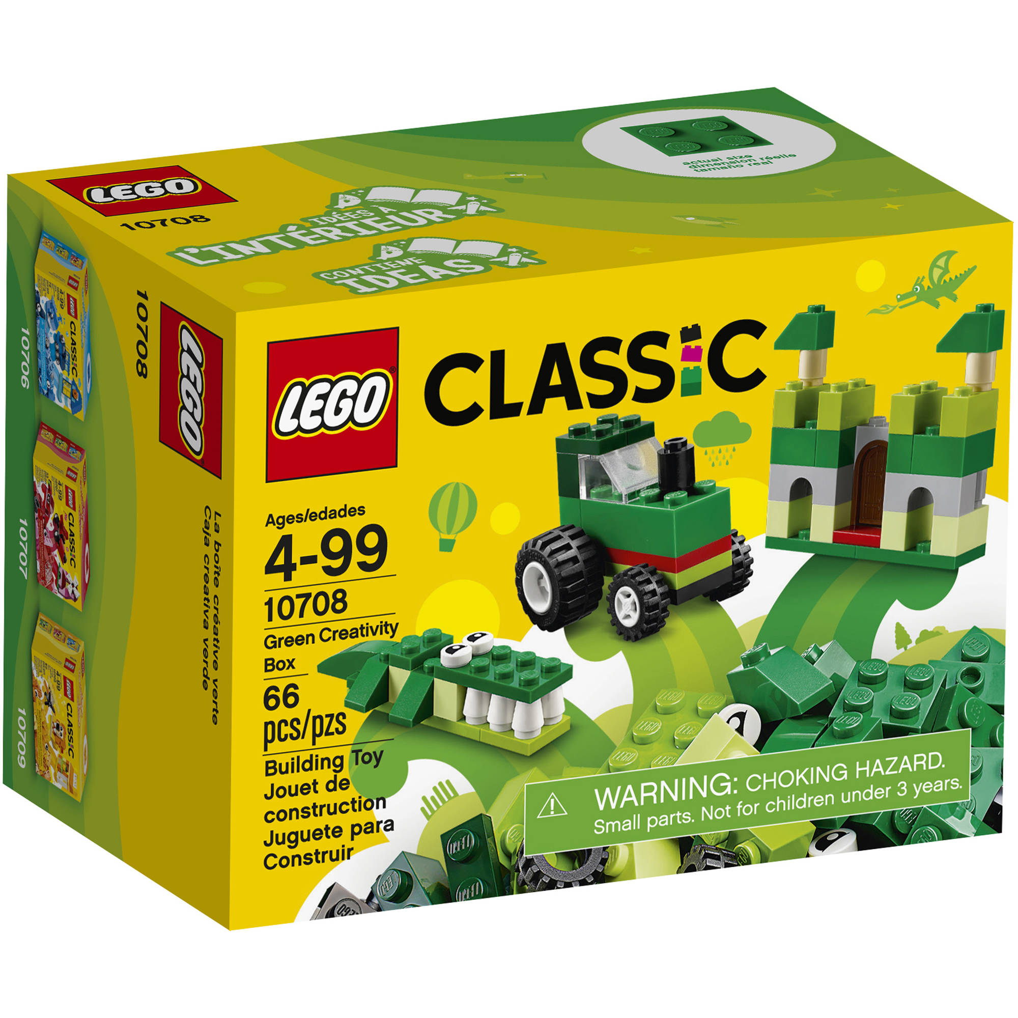 LEGO Classic Creativity Box, Green (10708)