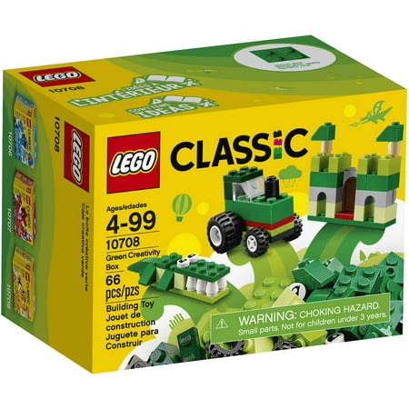 LEGO Red and Green Christmas Colors Classic Creativity Boxes