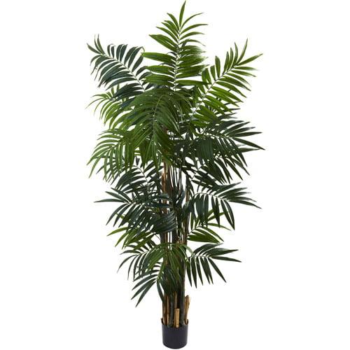 Nearly Natural 6' Bulb Areca Palm Tree