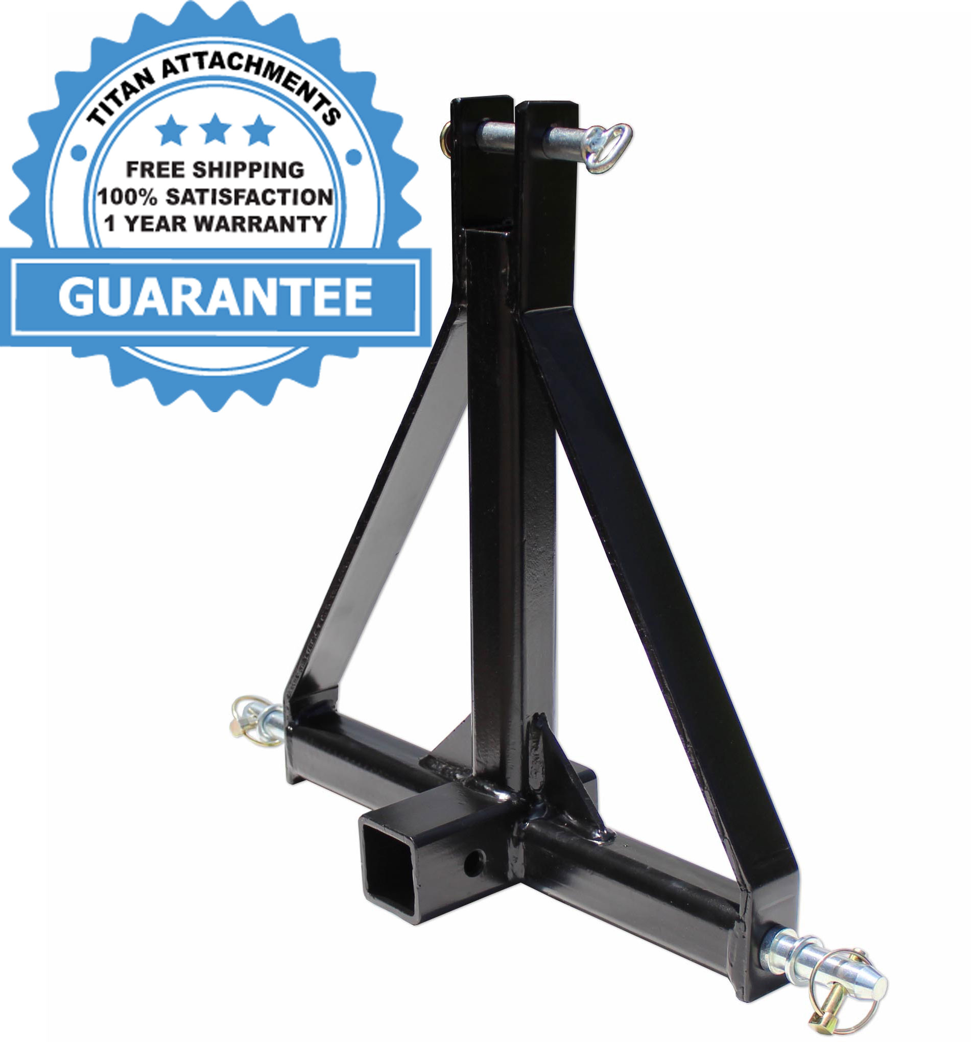 Sulythw 3 Point Trailer Hitch Adapter Category 1 Drawbar Tractor Trailer 2 Hitch Receiver 3 Point Attachment