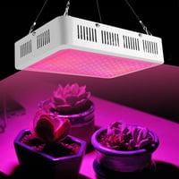 Akozon Plant Grow Light Bulb, AC85-265V Full Spectrum 120 LED Plant Grow Light Hydroponics Vegs Flowering Panel Lamp
