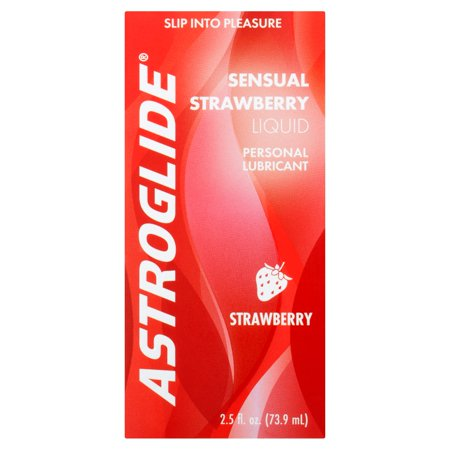 Astroglide Sensual Strawberry Personal Water Based Lubricant - 2.5 oz