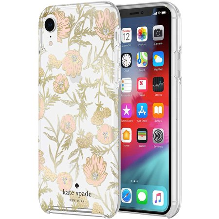 Kate Spade Protective Hardshell Case Blossom Foil for iPhone XR Case for iPhone XR - Gold - image 4 of 5