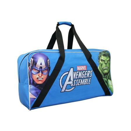 Marvel Avengers Polyester Junior Hockey Bag 28 Inch [ Blue ]