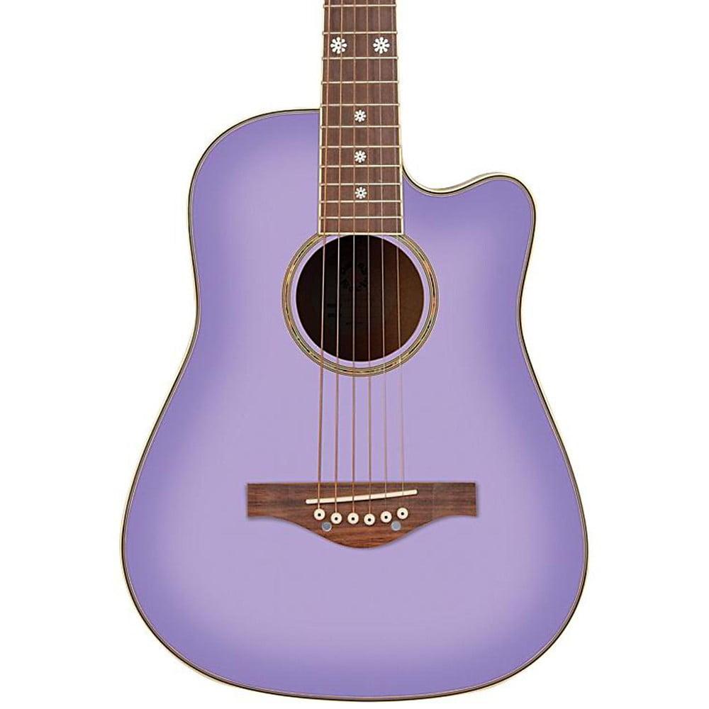 Daisy Rock Wildwood Acoustic Purple Daze by Daisy Rock Guitars