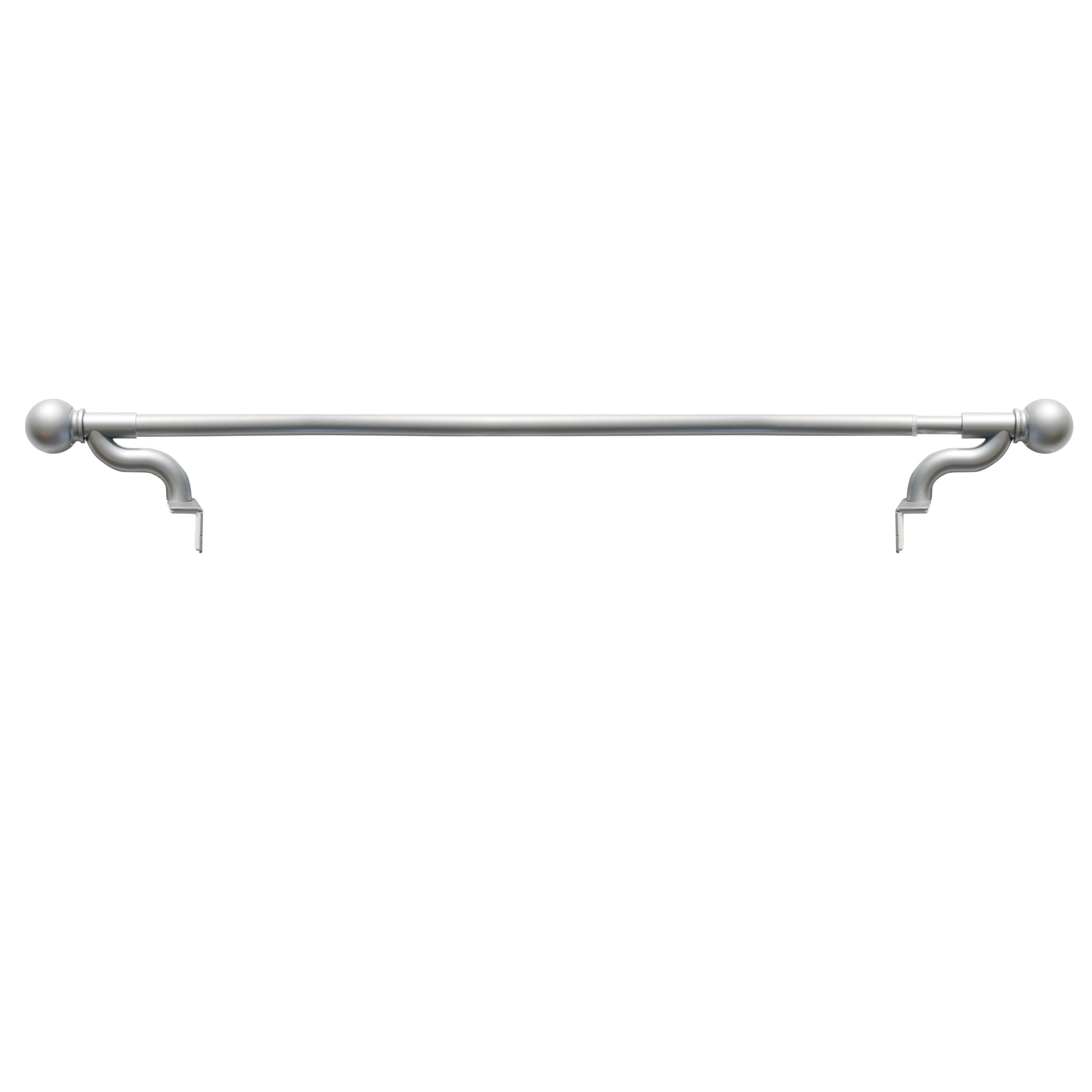 HabiLife Tension Curtain Rod 50-81 inches Never Rust Non-Slip Spring Tension Curtain Rod No Drilling Stainless Steel Curtain Rod Use Bathroom Kitchen Home