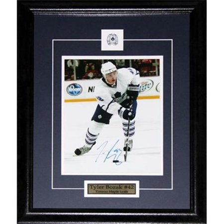 Midway Memorabilia Tyler Bozak Toronto Maple Leafs Signed 8X10 Frame by