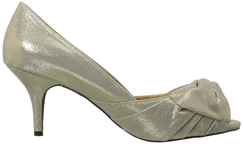 Luichiny Better Yet Women's Light Gold Dress Pump by Luichiny