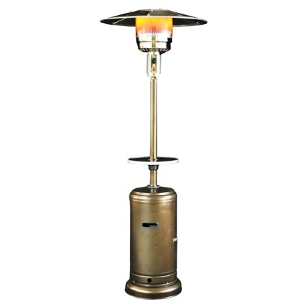 Image of SUNHEAT Classic Propane Umbrella Patio Heater with Drink Table