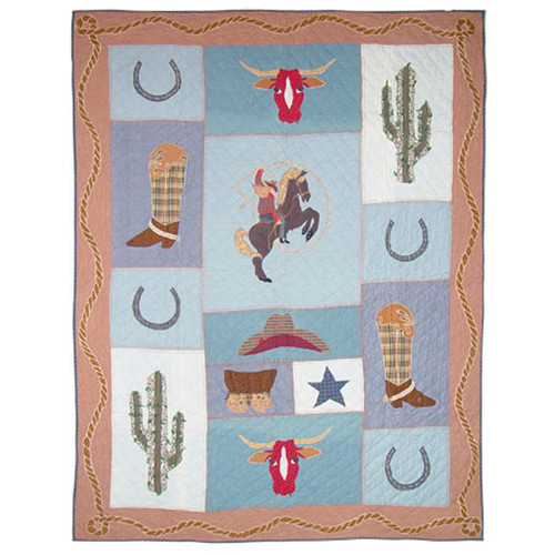 Patch Magic Cowgirl Quilt