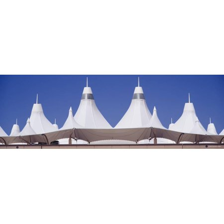 Roof of a Terminal Building at an Airport, Denver International Airport, Denver, Colorado, USA Print Wall Art By Panoramic Images