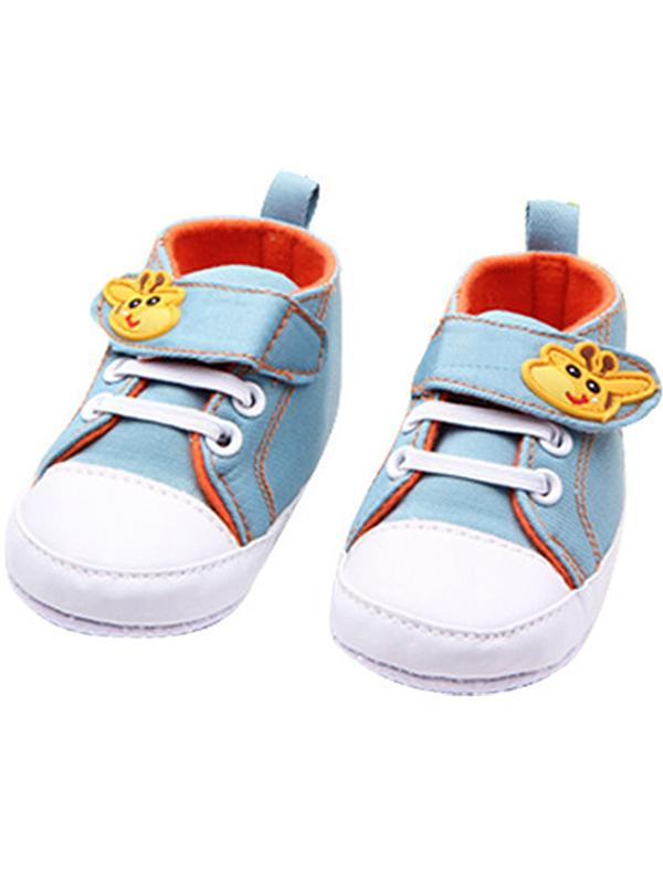 Lavaport 0-12M Cute Cartoon Baby Shoes Infant Soft Sole Sneaker