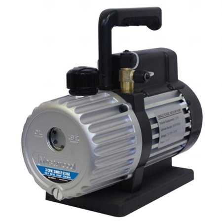 Mastercool 90062-B 3CFM Single Stage Vacuum Pump