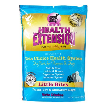 Vets Choice Holistic Health Extension Little Bites Free Range Chicken Dry Dog Food, 10 Lb