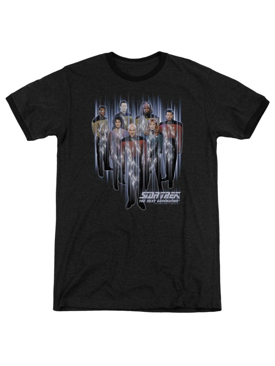 Final Frontier Cover Adult Ringer T Shirt Star Trek