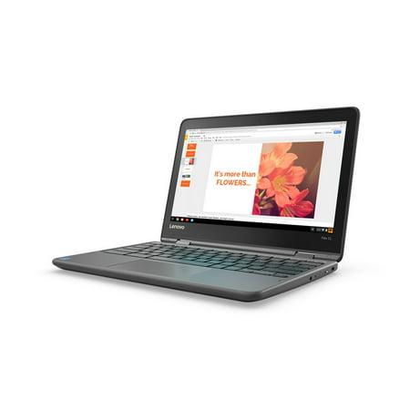 Lenovo Flex 11 Dark Grey Chrome OS MediaTek MT8173C Chromebook