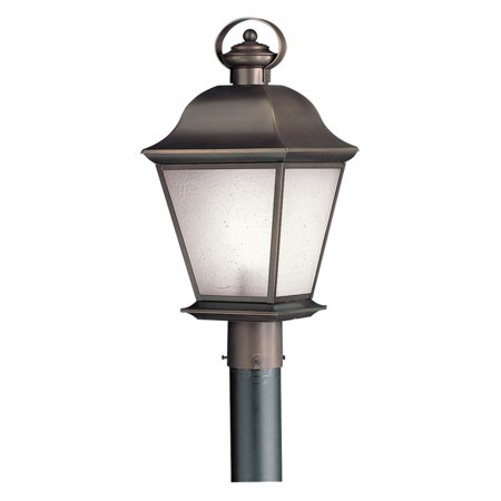 Kichler Mount Vernon 10911OZ Outdoor Post Lantern - 9.5 in. - Olde Bronze