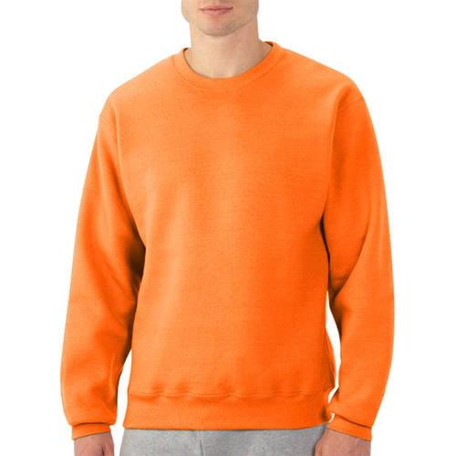 Fruit of the Loom Big Men's Fleece Crew Sweatshirt