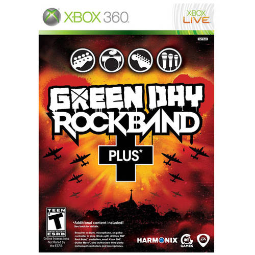 Rock Band: Green Day Plus (Xbox 360) - Pre-Owned