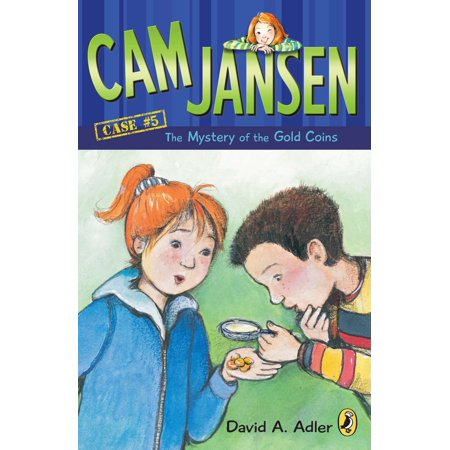 CAM Jansen: The Mystery of the Gold Coins #5 (Gold Coin With Angel On Both Sides Value)