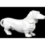 Urban Trends Ceramic Standing Dachshund Dog Figurine