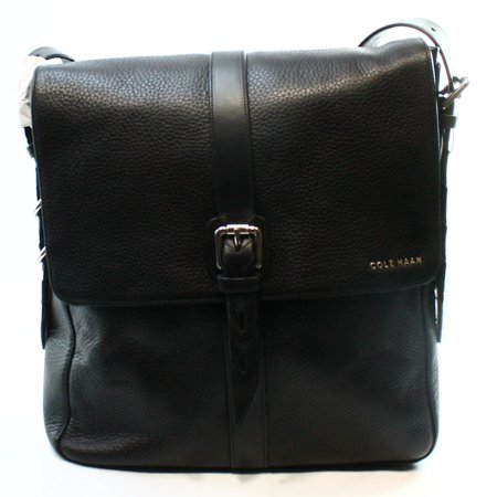 fc5d162bf1 Cole Haan - Cole Haan NEW Black Pebble Leather North South Messenger ...