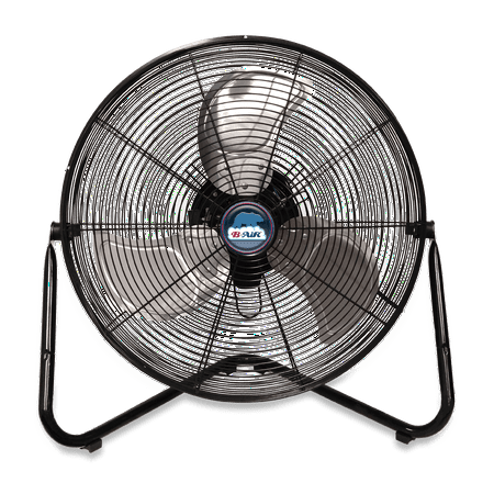 B-Air FIRTANA-20X High Velocity Floor Fan Electric Industrial Shop and Home Fan,