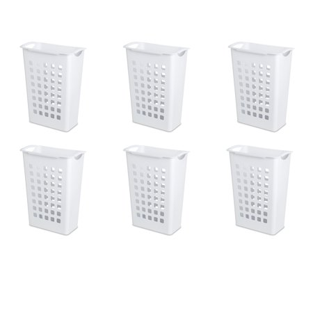 Sterilite, Sorting Hamper, White, Case of 6