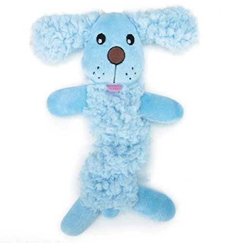 Baby Bark Bungee Stretch Puppy Dog Toys Pink or Blue Soft Plush Toy Small Pups