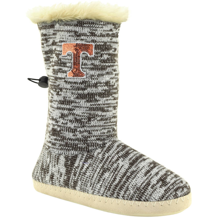 Collegiate Footwear University of Tennessee Size M 7-8 Boot Slippers 1 pr. by Renaissance Imports, Inc.