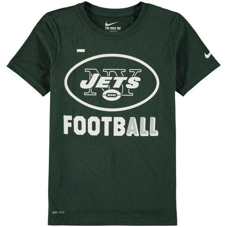 New York Jets Nike Youth Legend Football Performance T-Shirt - Green