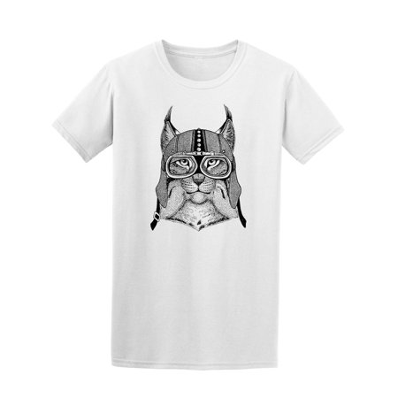 Cool Vintage Aviator Lynx Tee Men's -Image by Shutterstock