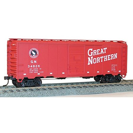 Accurail 35099 HO Scale KIT 40 FT AAR Single Door Boxcar - Great Northern
