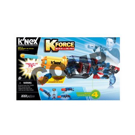 Knex Limited Partnership Group 47011 K 25X Rotoshot Blaster