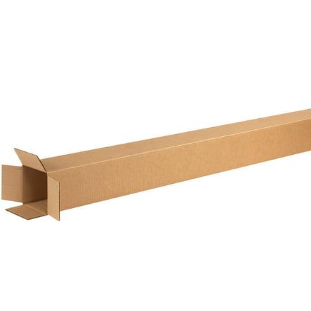 Box Partners Tall Corrugated Bxs,4x4x60,Kraft,25/BDL - BXP -