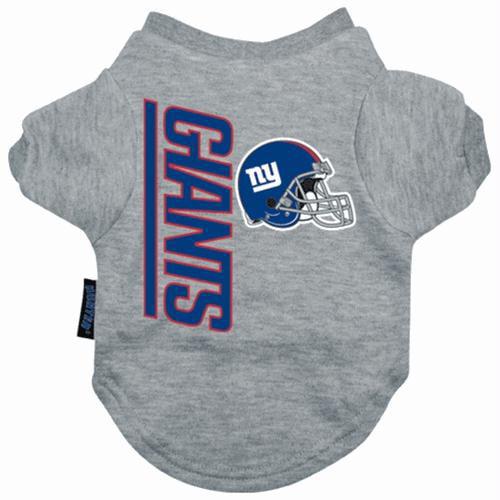 New York Giants Dog Tee Shirt - Small