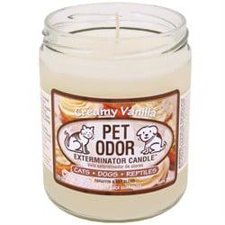 Pet Odor Exterminator Candle - Creamy Vanilla Jar (13 oz)