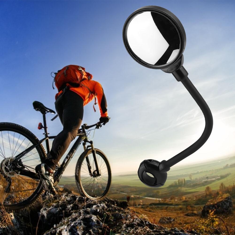 Bicycle Rear View Mirror MTB Road Bike Handlebar Rearview Convex Mirror Cycling