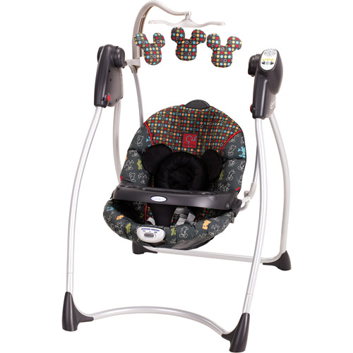 Graco - Lovin' Hug Swing, Mickey Mouse in the House